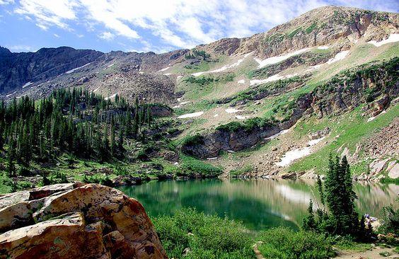 Cecret Lake near Alta