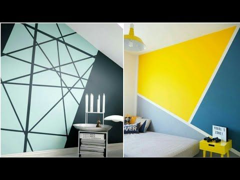 33 Perfect Wall Paints Designs Youtube Wall Paint Designs Home Interior Design House Interior