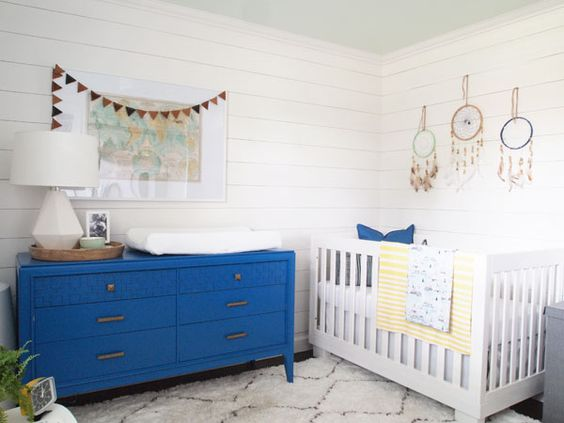 ryan 39 s nursery reveal house tours planked walls and. Black Bedroom Furniture Sets. Home Design Ideas