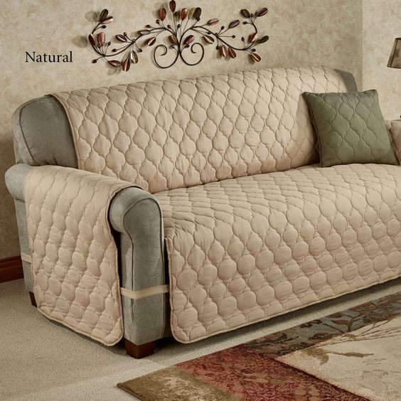 Paramount Solid Color Quilted Furniture Protectors Furniture Protectors Couch Covers Slipcovers For Chairs