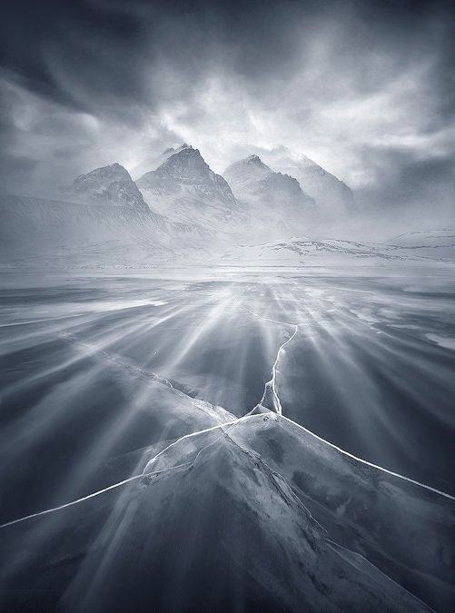 Homage to the Mountain | Blowing snow, Banff, Alberta, Canada: