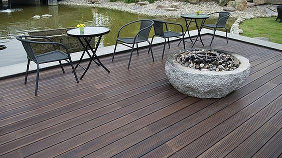 Die besten 25+ Terrassendielen bambus Ideen auf Pinterest Bambus - terrassenbelage holz terrassendielen