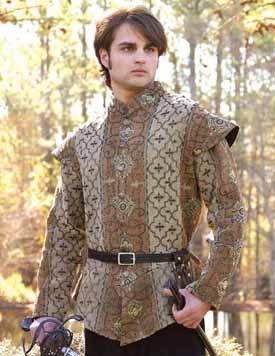 Royal Court Doublet: Renaissance Costumes, Medieval Clothing, Madrigal Costume: The Tudor Shoppe