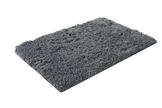 Klickpick Designs Chenille Bath Mats Extra Fluffy Bath Mat Super