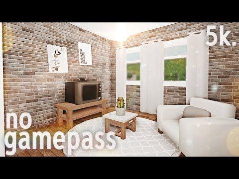 Roblox Bloxburg 5k No Gamepass Home Youtube Luxury House