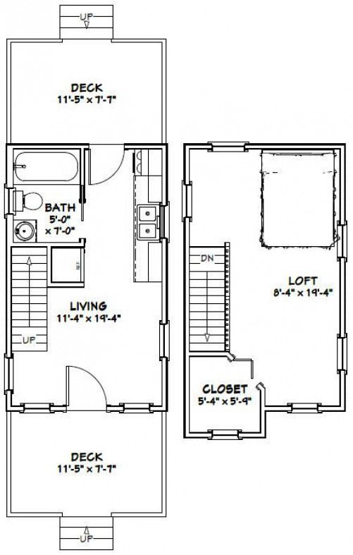 12x20 Tiny Houses 6 Winsome Inspiration 12 X 20 Home Floor Plans Shedplans Tiny House Floor Plans Floor Plans Cabin Floor Plans