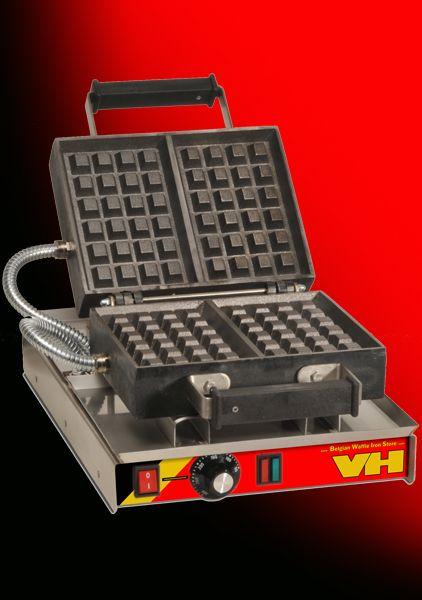 Professional Cast Iron Waffle Iron