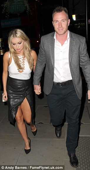 Bouncing back: Ola is recovering from the disappointment of leaving Strictly first after w...