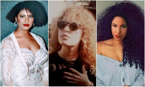 15 Times Selena Quintanilla Proudly Rocked Her Curls Selena Quintanilla Half Up Half Down Hair Selena