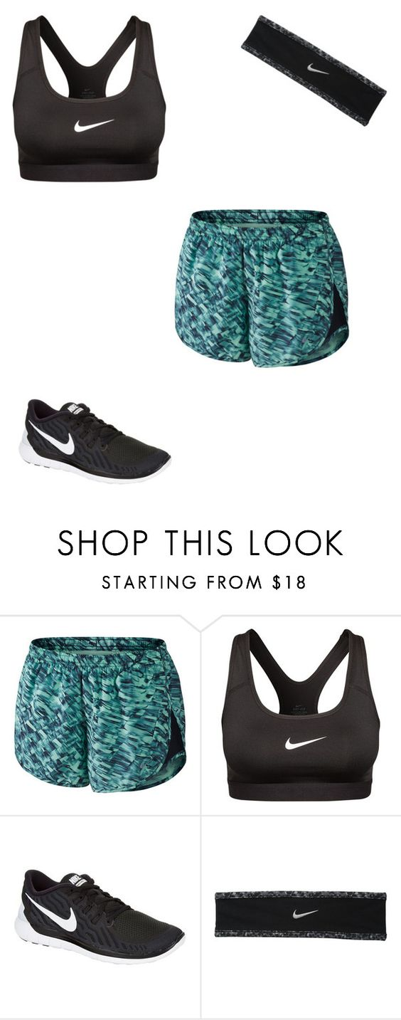 """More Nike"" by softballgirl011 ❤ liked on Polyvore featuring NIKE, women's clothing, women, female, woman, misses and juniors"