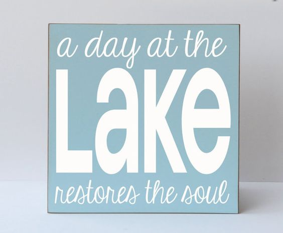 Typography, Lakes And Beaches On Pinterest