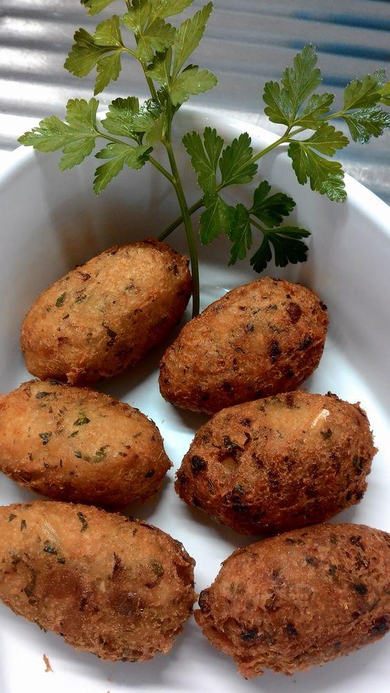 Cozinha da Ceci: Bolinhos de Bacalhau