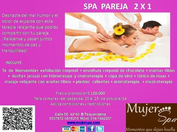 Mujer Spa: SPA  2 X 1