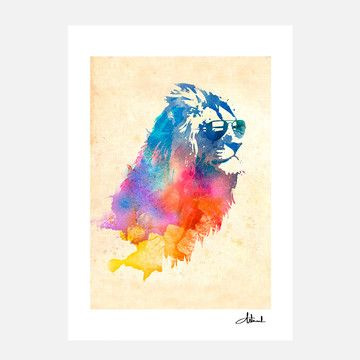 Sunny Leo Print 70x100, 140€, now featured on Fab.