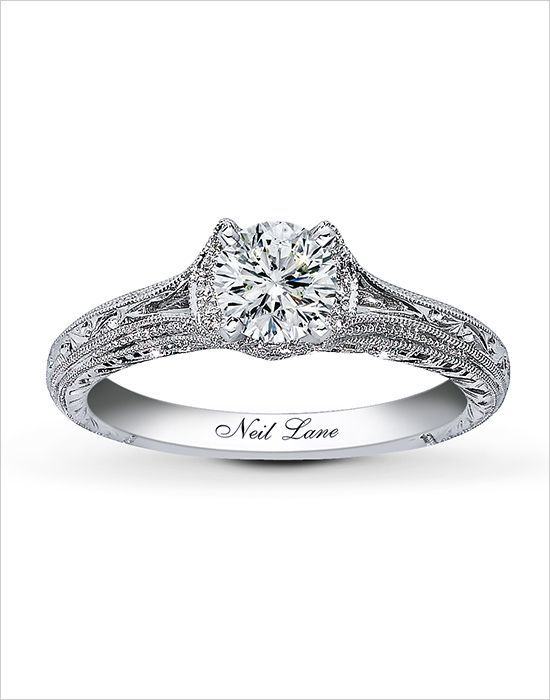 Neil Lane Vintage Inspired Engagement Ring Wedding Chicks Inspiration Wha White Gold Engagement Rings Vintage Vintage Engagement Rings Vintage Wedding Jewelry