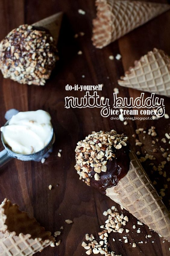 divianconner: So Easy A 4th Grader Can Do It: DIY Nutty Buddy Cones