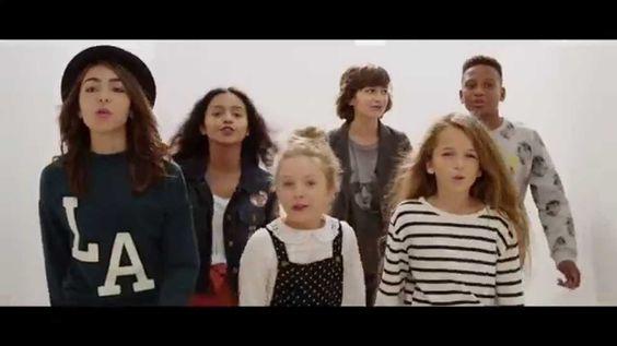 KIDS UNITED - On Ecrit Sur Les Murs (Clip Officiel) Chanson originale de Demis Roussos