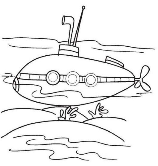 Best Submarine Coloring Pictures Coloring Pages Coloring Pictures Submarines