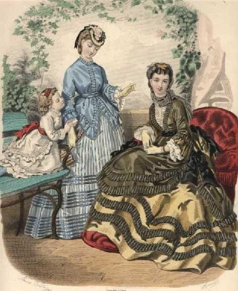 La Mode Illustrée, 1870: