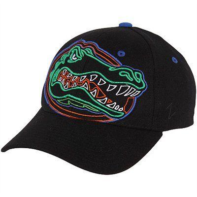 Zephyr Florida Gators X-Ray Z-Fit Hat - Black: