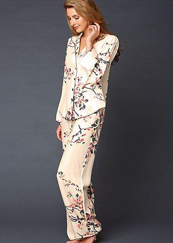 Silk pajamas, Silk pjs and Pajamas on Pinterest