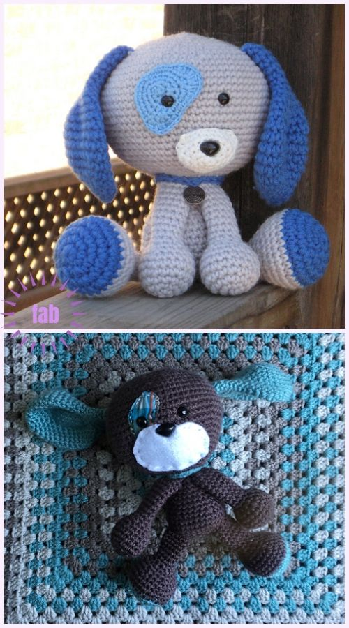 Amigurumi Domino The Dog Toy Crochet Pattern Crochet Cat Pattern