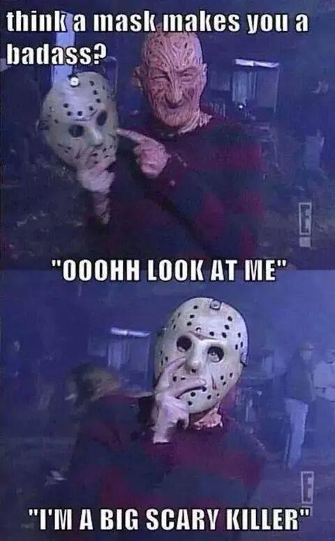 Freddy Krueger funny mask