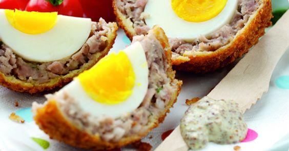 Paul Merrett's Scotch eggs
