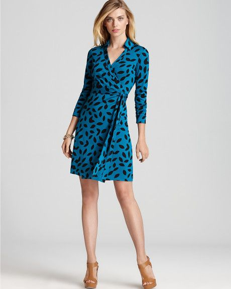 Love this: Wrap Dress New Jeanne Two Vintage Silk Jersey @Lyst