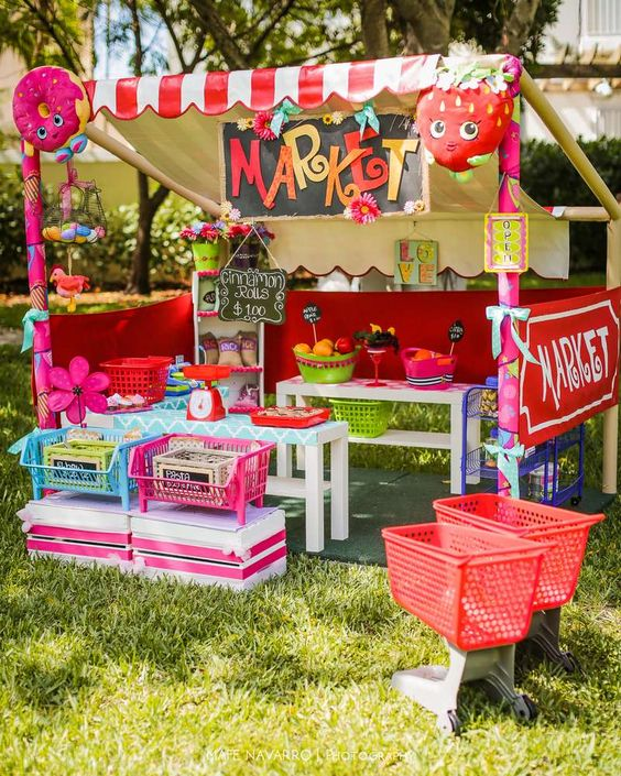 Shopkins Birthday Party | CatchMyParty.com: