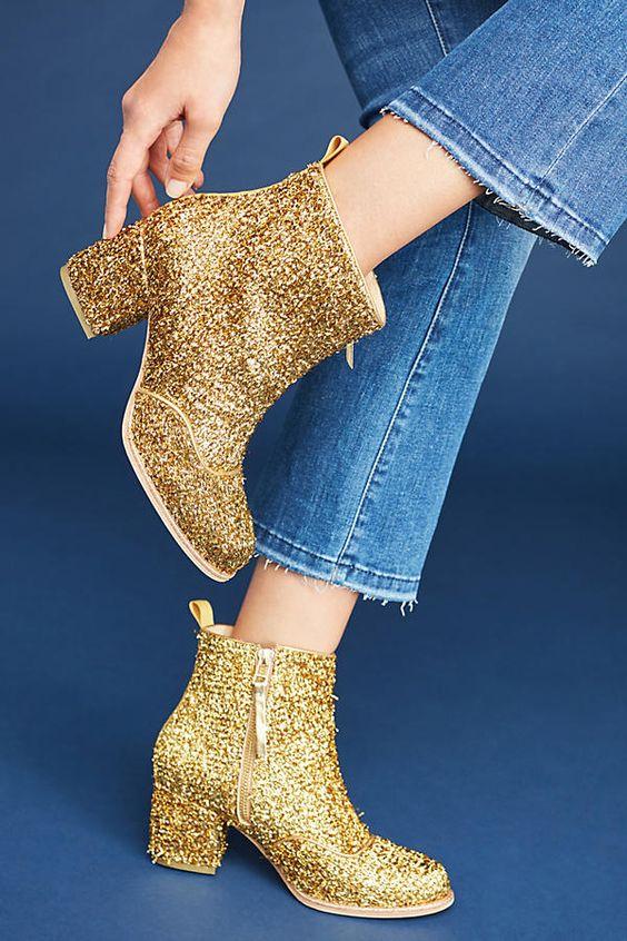 Bill Blass Tinsel Boots