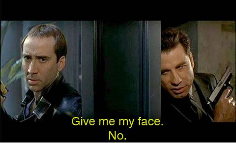 Face Off. - Love this movie!