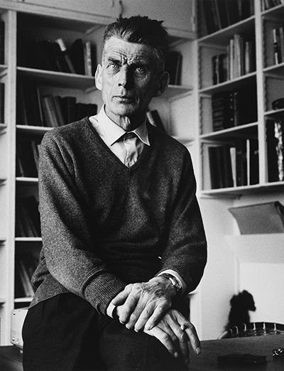 Credit: Michael Peto/© University Of Dundee, The Peto Collection Samuel Beckett at home in his Paris apartment in 1961