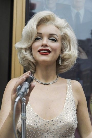A Marilyn Monroe wax figure is unveiled at Madame Tussauds on October 30, 2013 in Washington, DC. (Kris Connor/Getty Images)