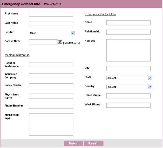 Customer Contact Form HTML Form Builder Free Web Form  Zoho - emergency contact forms