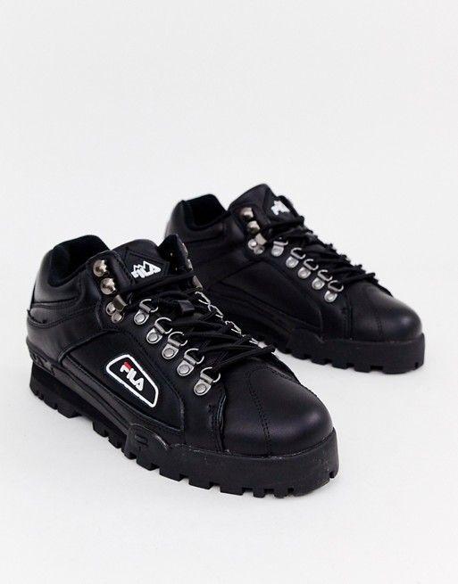 Fila Trailblazer Sneakers In Black   Sneakers, Fila, Black