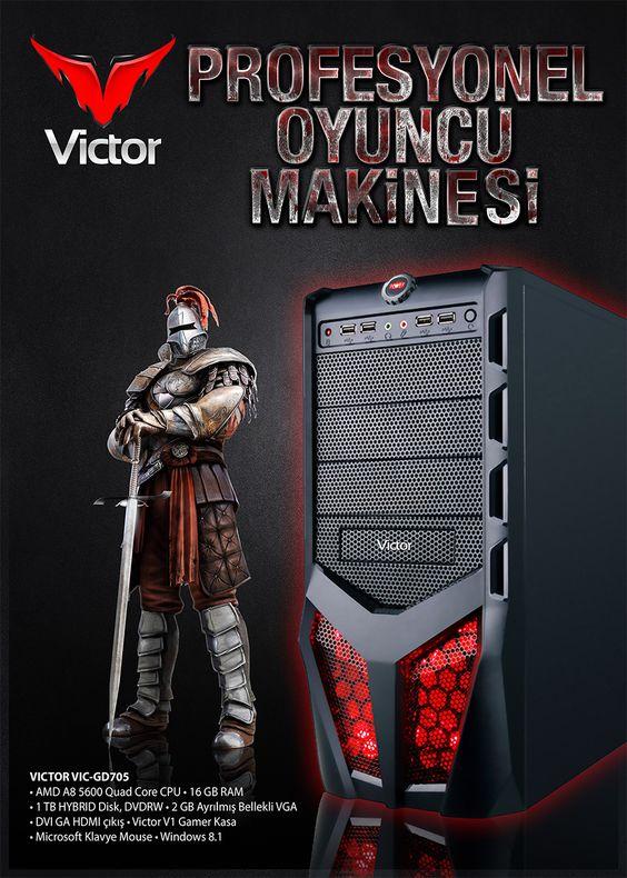 Victor VIC-GD705 Masaüstü Oyun Biligisayarı