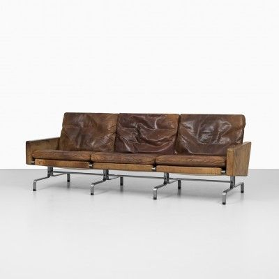 Located using retrostart.com > PK-31/3 Sofa by Poul Kjærholm for E. Kold Christensen