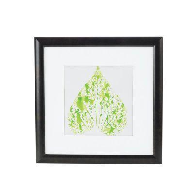 Kids' Leaf Stamped Framed Art, large