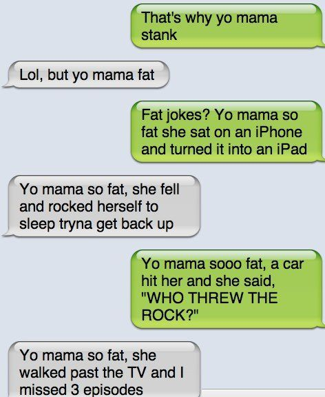 Yo mama so fat arguement - http://jokideo.com/ | LOL ...