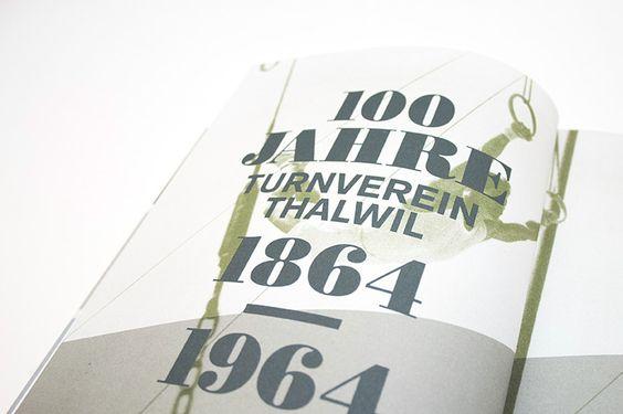 Jubiläums-Buch für den TV Thalwil zur 150-Jahres-Feier im Mai 2014. Das Buch wurde in Zusammenarbeit mit dem Redaktionsteam erstellt, nachdem wir das Gestaltungskonzept und den visuellen Auftritt für die Begleitmassnahmen präsentiert haben. Das 300-seitige Werk beinhaltet drei Zeitepochen, welche auch mit verschiedenen Papiersorten produziert wurden um den Charakter der Abschnitte gestalterisch, haptisch und bildlich darstellen zu können.