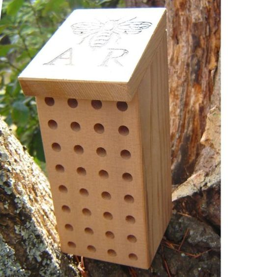 A.R. Bee Keep Mason Bee House