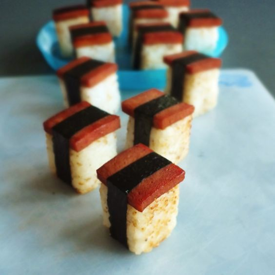 After making and eating spam musubi last week, I began to think of ways tomake themmore of a bite size appetizer. But how? Then I saw this! And I realized that a cheaper alternative was right wit…