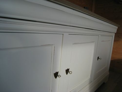 Buffet Louis Philippe Relooke Patines Couleurs Relooker Meuble Renovation Meuble Relooker