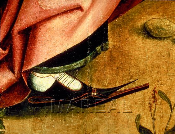 Augustus und die Sibylle von Tibur Kunstwerk: Temperamalerei-Holz ; Einrichtung sakral ; Flügelaltar  Dokumentation: 1470 ; 1475 ; Bamberg ; Deutschland ; Franken ; Staatsgalerie: