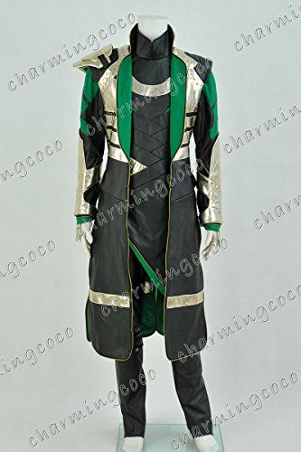 Awesome Loki costume for Cosplay or Halloween.