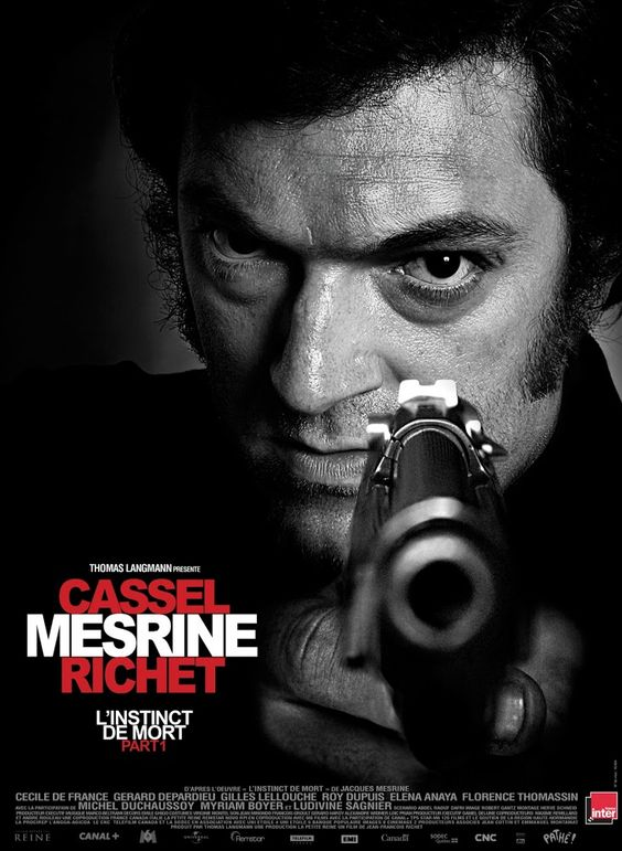 Mesrine: Parte 1. Instinto de muerte - Mesrine: L'instinct de mort (2008)   Fulgurante carrera criminal...