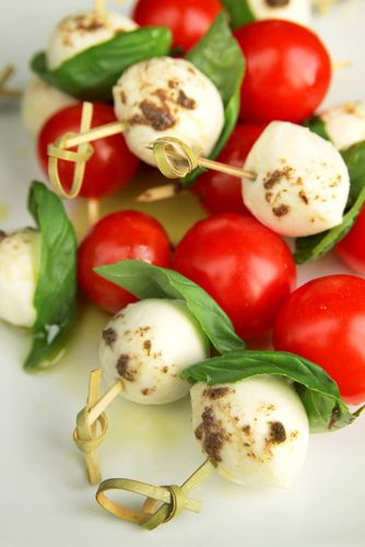 6 sensational cold canap s food pinterest cherry for Simple canape appetizer