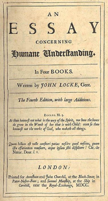 what is natural right  according to john locke? essay John locke: essay on human understanding book ii, chapter xxvii, of identity and section ii: what is the self reading ii4 john locke (1632-1704) was an english philosopher of the 17th century locke lived in an age of great change in both england and in europe in general in england, the 17 th century saw revolutions resulting in.