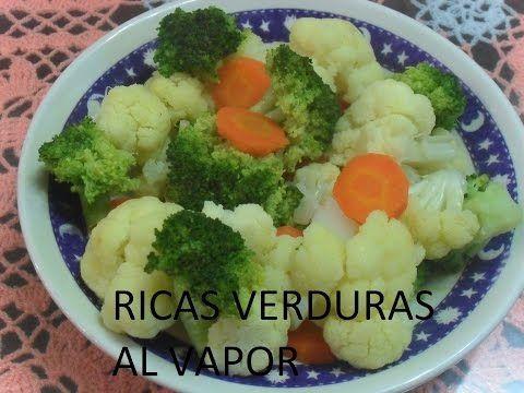 VERDURAS A LA MANTEQUILLA, Escuela de cocina, #27, verduras al vapor - YouTube